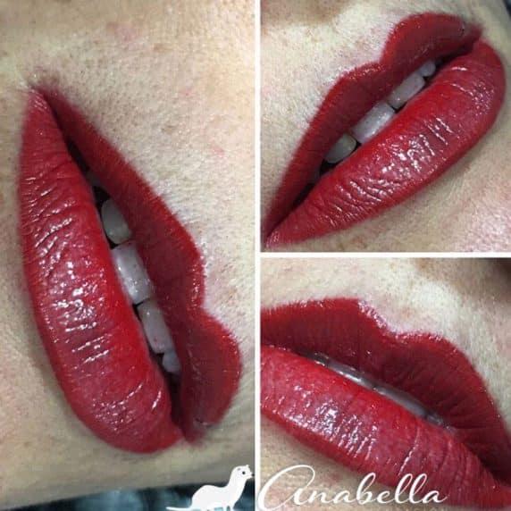 Micropigmentación en labios